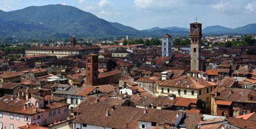 Panoramica di Lucca