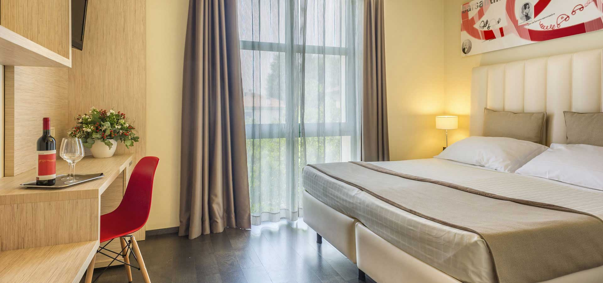 hotel 3 stelle Lucca vicino al centro