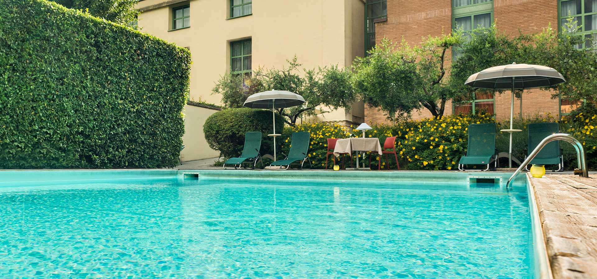 hotel 3 stelle con giardino e piscina a Lucca