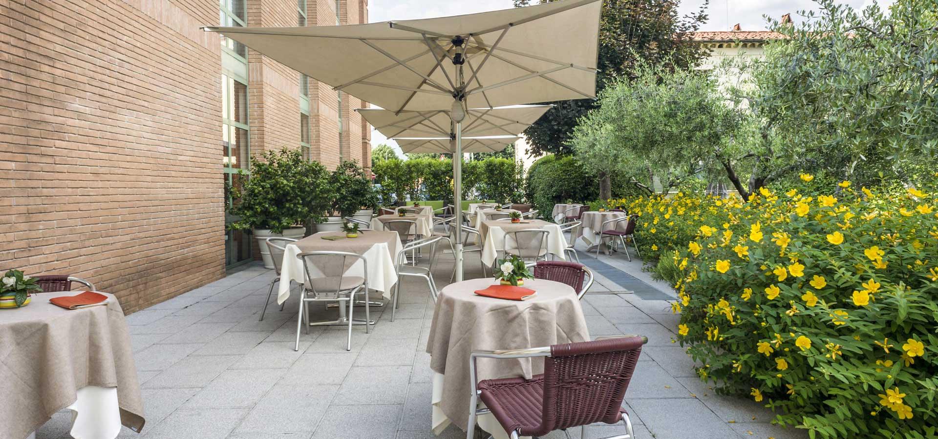 hotel con giardino a Lucca