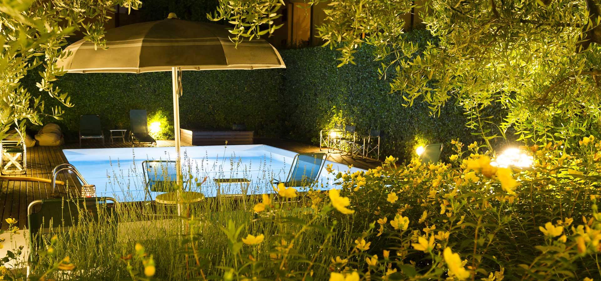 hotel con piscina a Lucca